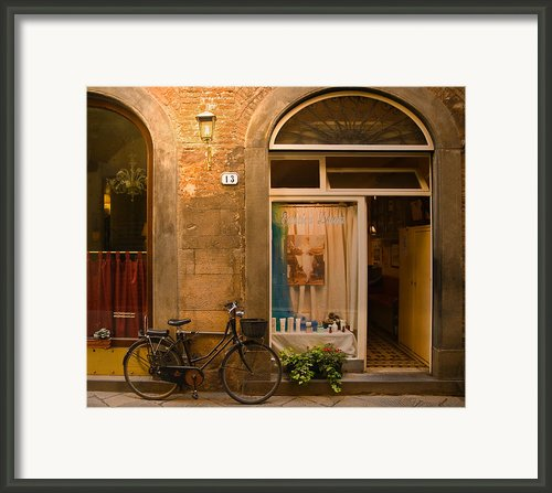 Thirteen Framed Print By Mick Burkey
