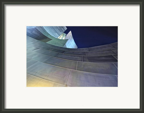 This Is California No. 17 - Walt Disney Curves Framed Print By Paul W Sharpe Aka Wizard Of Wonders