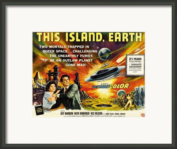 This Island Earth, Faith Domergue, Rex Framed Print By Everett