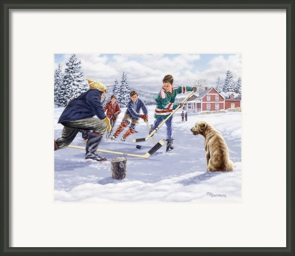This Time For Sure Framed Print By Richard De Wolfe