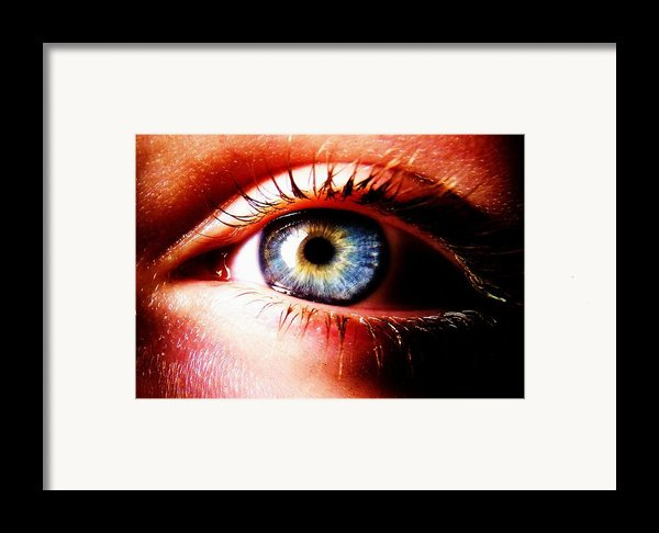 This Window To The Soul Framed Print By Eleanor Bennett