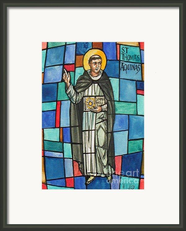 Thomas Aquinas Italian Philosopher Framed Print By Photo Researchers
