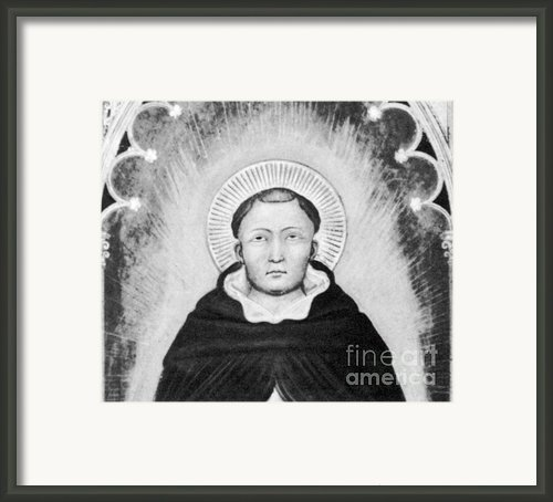 Thomas Aquinas, Italian Philosopher Framed Print By Science Source