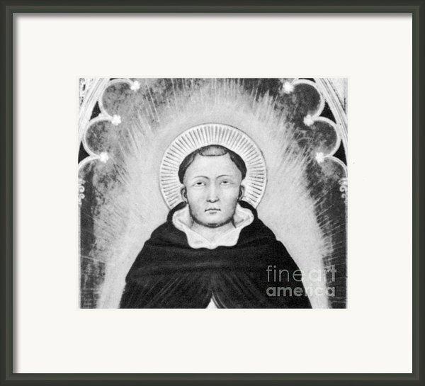 Thomas Aquinas, Italian Philosopher Framed Print By Science Source
