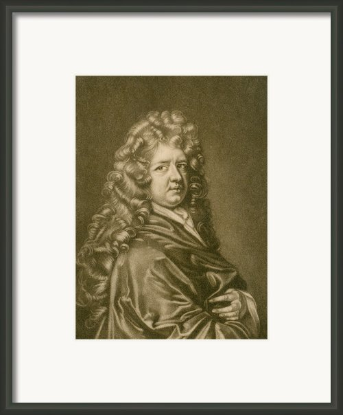 Thomas Betterton C. 1635-1710, Leading Framed Print By Everett