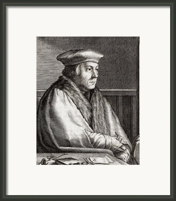 Thomas Cromwell, English Statesman Framed Print By Middle Temple Library