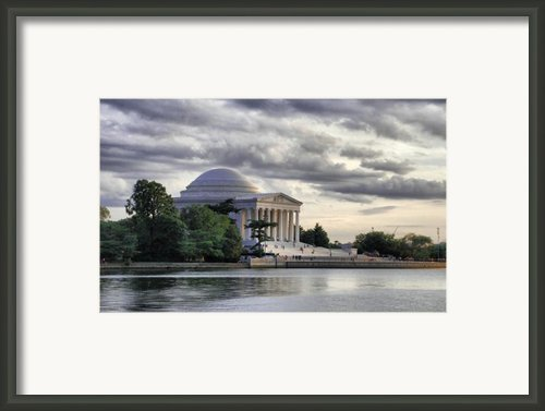 Thomas Jefferson Memorial Framed Print By Gene Sizemore
