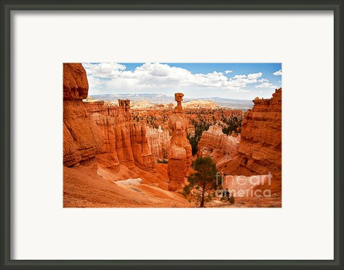 Thors Hammer Framed Print By Jane Rix