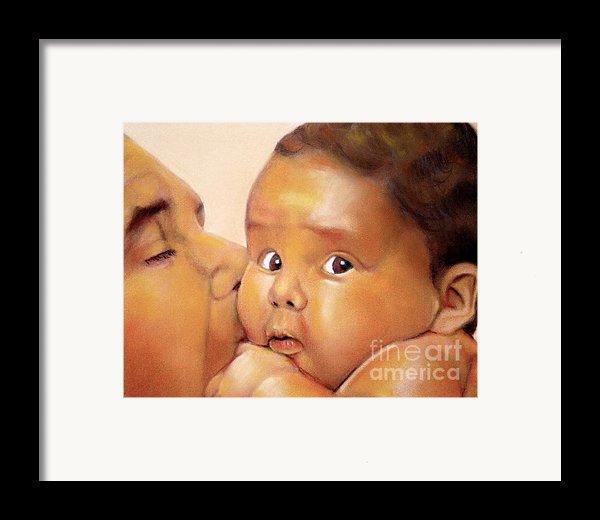 Those Eyes Framed Print By Curtis James