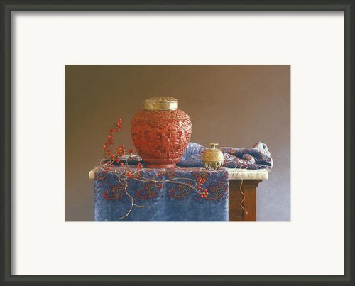 Thread To The Past Framed Print By Barbara Groff