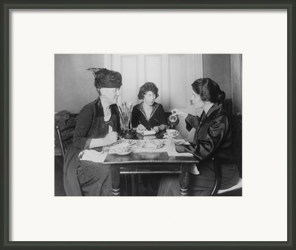Three Feminists Activists Framed Print By Everett