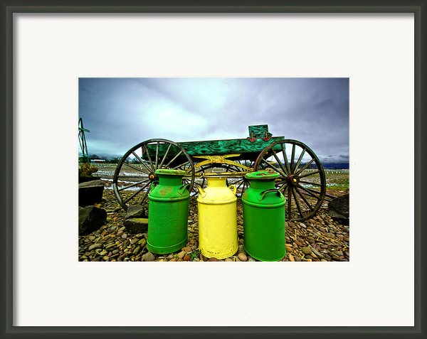 Three Jugs Framed Print By Dale Stillman