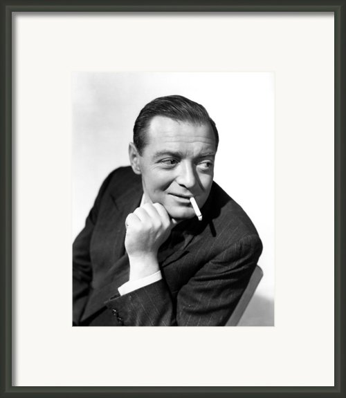Three Strangers, Peter Lorre, 1946 Framed Print By Everett