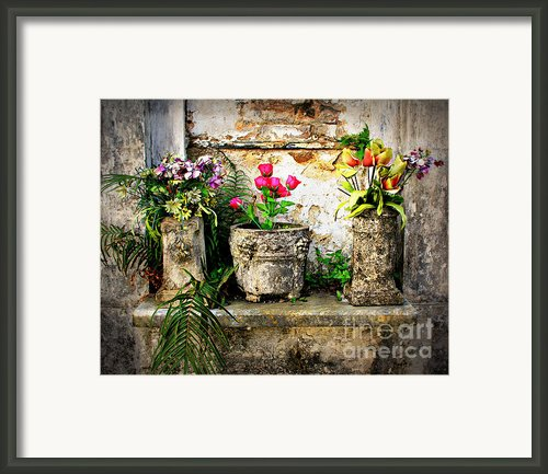 Three Vases Framed Print By Perry Webster