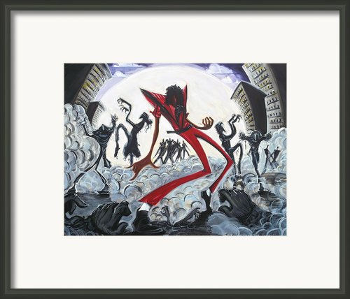 Thriller V2 Framed Print By Tu-kwon Thomas