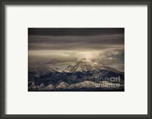 Through The Clouds Framed Print By Timothy Johnson