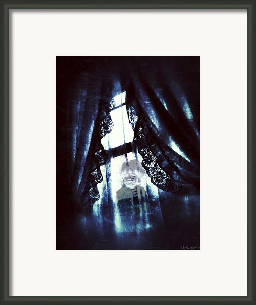 Through The Window Framed Print By Amanda Makepeace