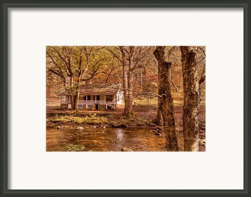 Through The Woods Framed Print By Debra And Dave Vanderlaan