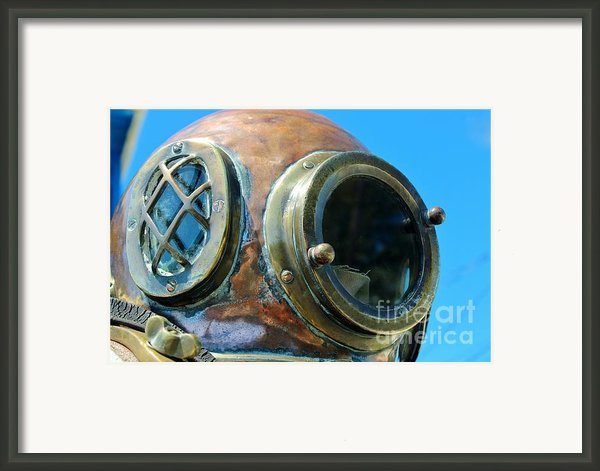 Thru The Peep Hole Framed Print By Rene Triay Photography