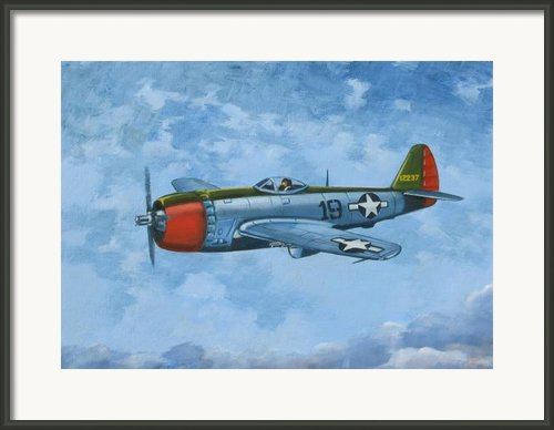 Thunderbolt Framed Print By Murray Mcleod