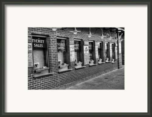 Tickets Framed Print By Ricky Barnard