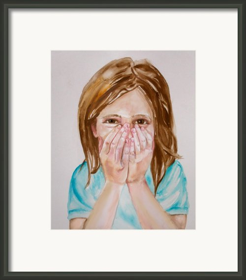 Tickled Pink Framed Print By Anne Cameron Cutri