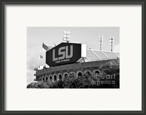 Tiger Stadium Framed Print By Scott Pellegrin