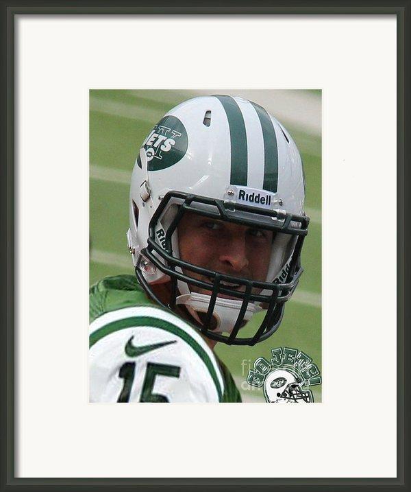 Tim Tebow - New York Jets Florida Gators - Timothy Richard Tebow Framed Print By Lee Dos Santos