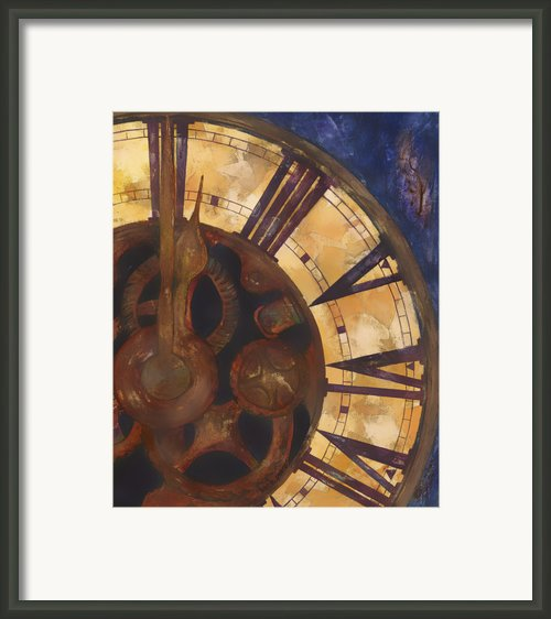 Time Askew Framed Print By Barb Pearson