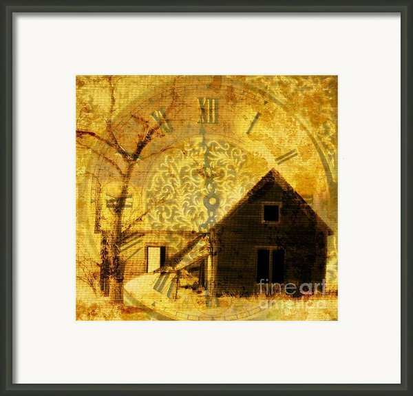 Time Marches On Framed Print By Barbara Henry
