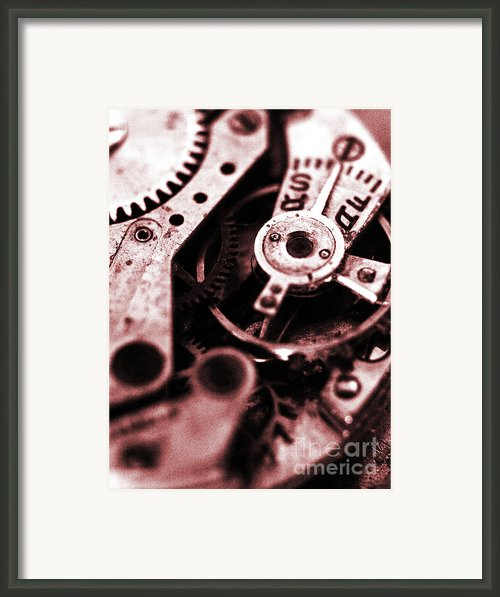 Time Mechanisms Framed Print By David Cucalon
