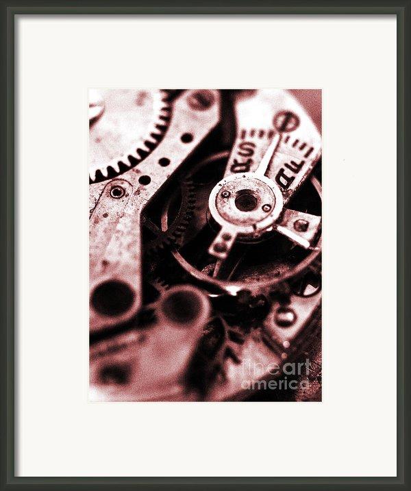 Time Mechanisms Framed Print By David Cucalon