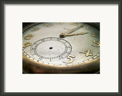 Time Framed Print By Scott Norris