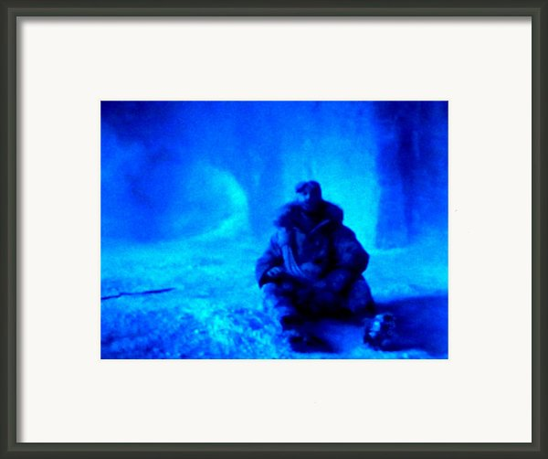 Time Stopped In A Huge Snow Ice  Grotte Framed Print By Colette V Hera  Guggenheim
