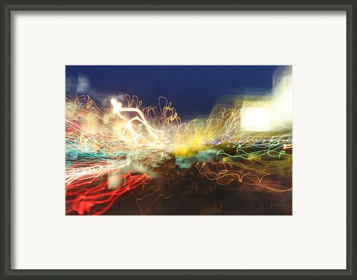 Time Tunnel Framed Print By Rick Rauzi