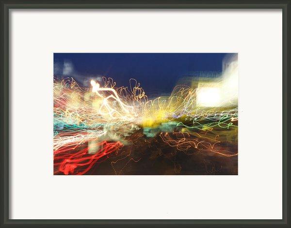 Time Tunnel Framed Print By Rick Rauzi