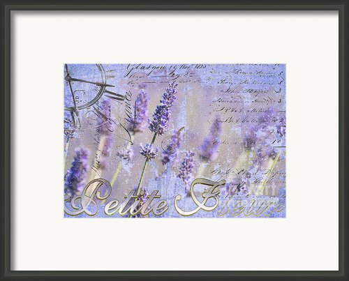 Timeless Lavender Framed Print By Anahi Decanio