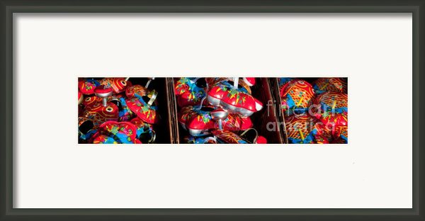 Tin Toys Framed Print By Andy Smy