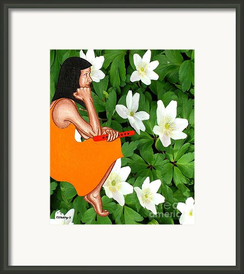 Tin Whistle 2 Framed Print By Patrick J Murphy