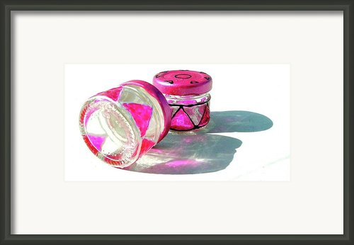 Tiny Bottles Framed Print By Farah Faizal