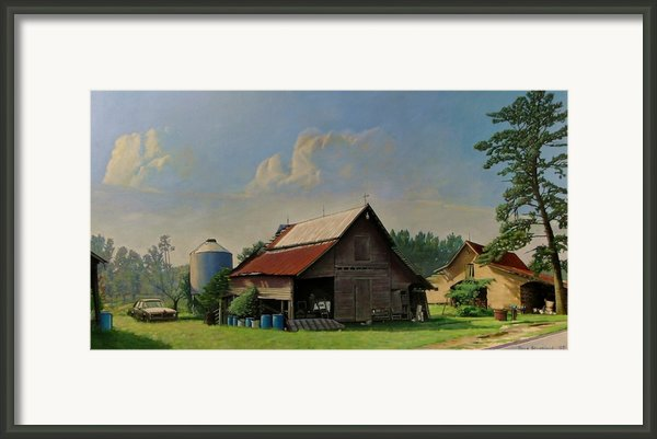 Tired And Retired Framed Print By Doug Strickland