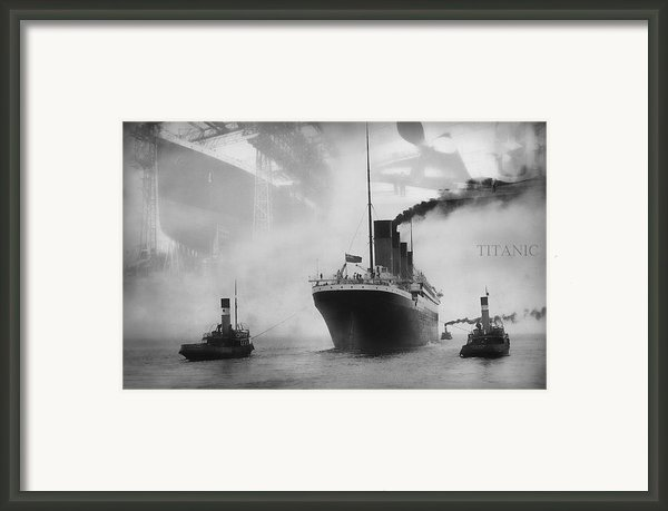 Titanic Framed Print By Chris Cardwell