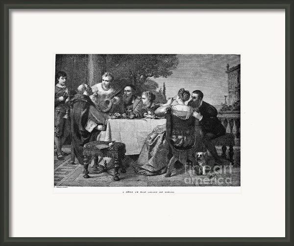 Titian (1477-1576) Framed Print By Granger
