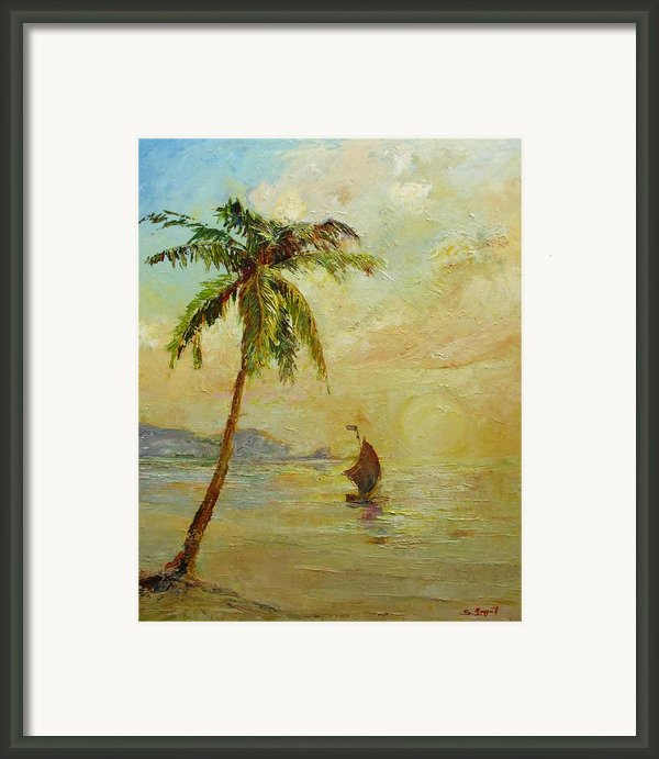 To The West Framed Print By Tigran Ghulyan