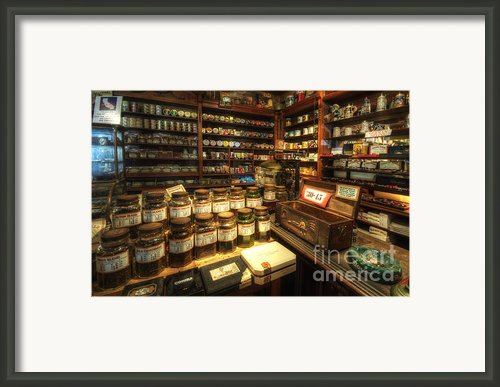 Tobacco Jars Framed Print By Yhun Suarez