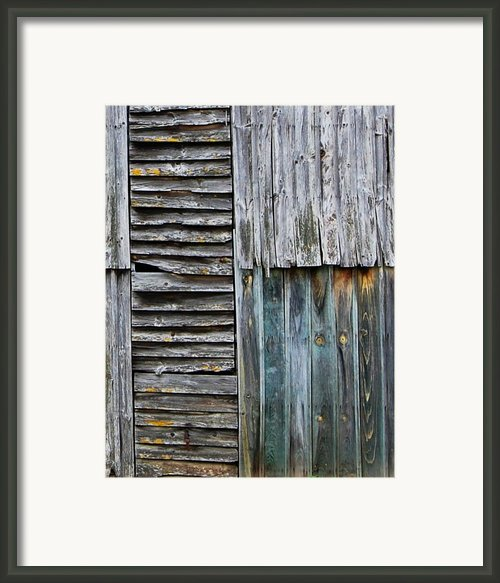 Tobacco Shed In France Framed Print By Marion Mccristall
