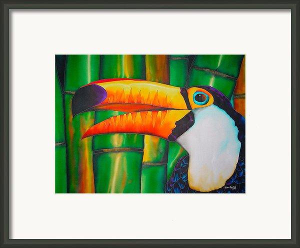 Toco Toucan Framed Print By Daniel Jean-baptiste