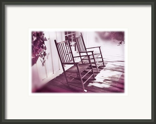 Together Forever Framed Print By Mal Bray
