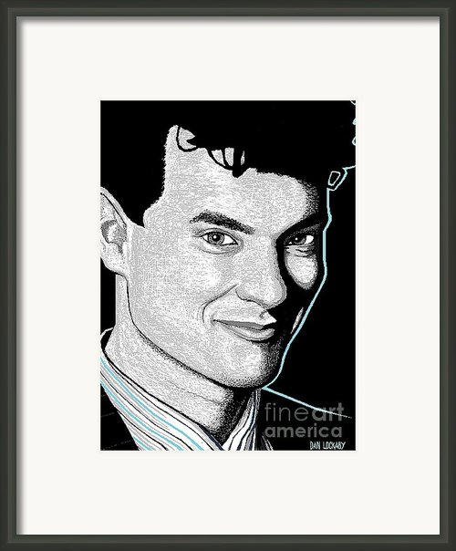 Tom Hanks Framed Print By Dan Lockaby