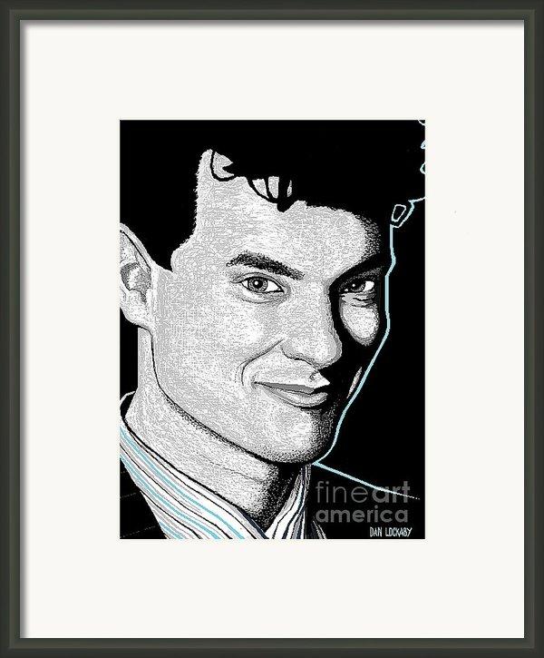 Tom Hanks Framed Print By Dan Lockaby